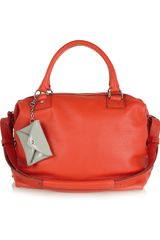 Diane Von Furstenberg Sporty Drew Leather Tote - Lyst