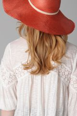 Eugenia Kim Bunny Sunhat in Orange (coral) - Lyst