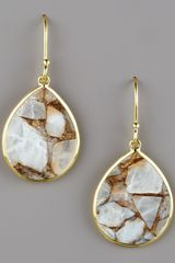 Ippolita Small Teardrop Earrings, Calcite - Lyst