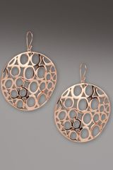 Ippolita Rose Gold Drop Earrings - Lyst