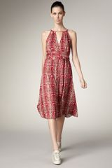 Marc By Marc Jacobs Serpent-print Dress - Lyst