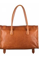 Proenza Schouler Ps1 Keep All Large Leather in Brown (saddle) - Lyst