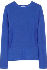 T By Alexander Wang Knitted Cotton Sweater - Lyst
