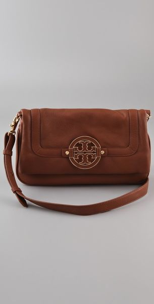 Tory Burch Amanda Messenger in Brown - Lyst