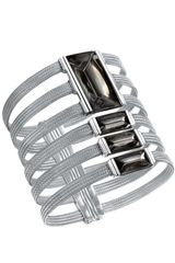 Baccarat Limited Edition So Insomnight Silver Mordore Bracelet