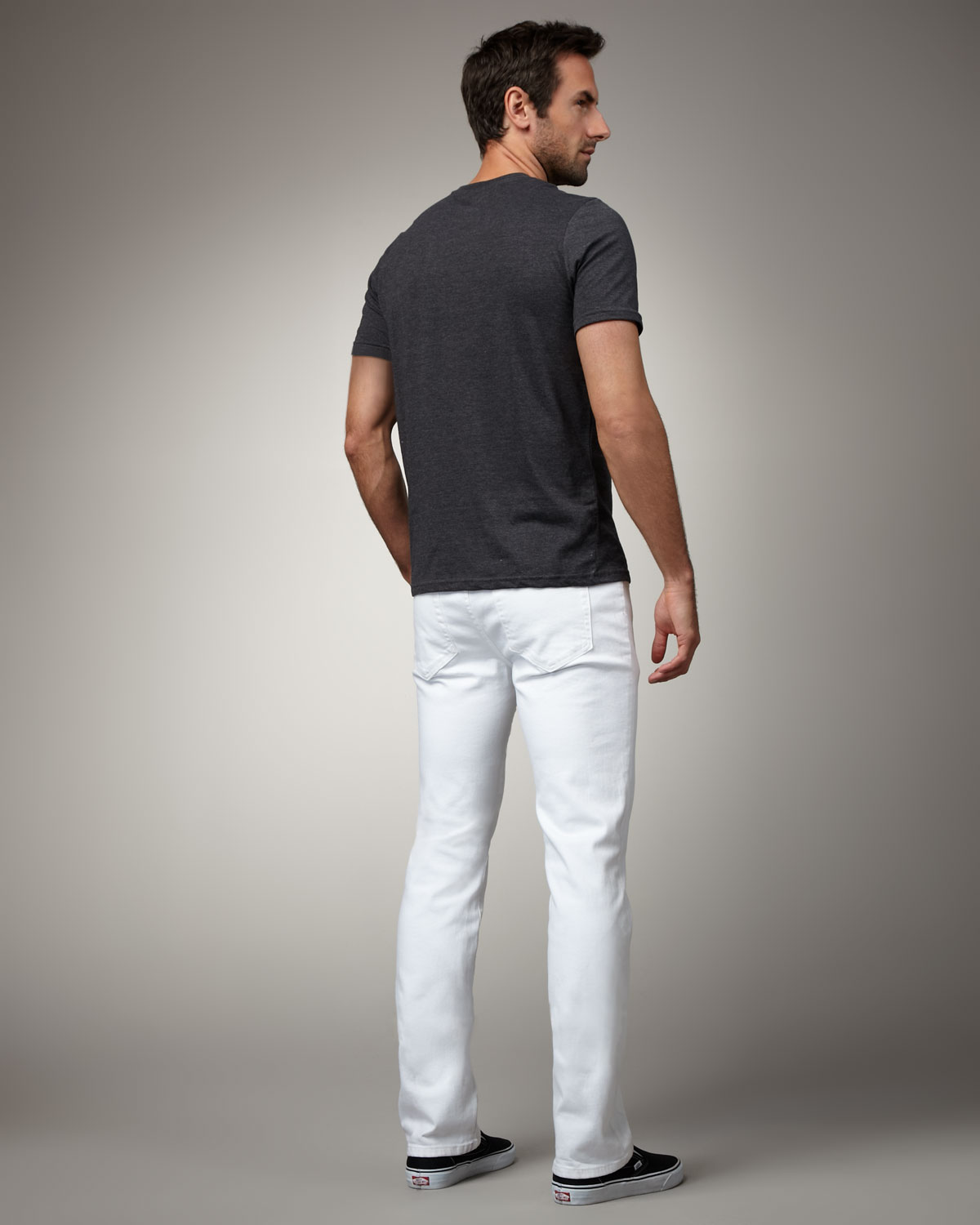 Joe's jeans Brixton Optic White Jeans in White for Men | Lyst