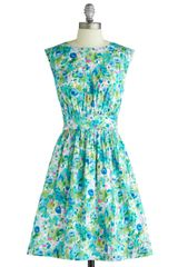 ModCloth Too Much Fun Dress in Blossoms - Lyst