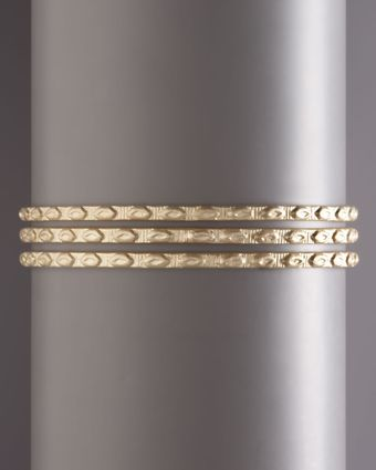 Padma Pod-embossed Bangle - Lyst