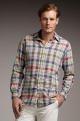 Polo Ralph Lauren Plaid Madras Shirt - Lyst