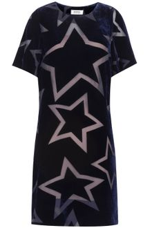 Sonia By Sonia Rykiel Devoré-velvet Star Dress - Lyst