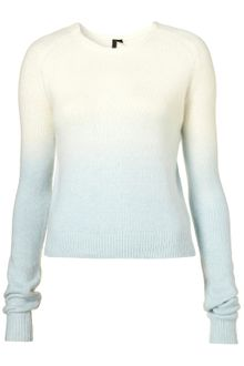 Topshop Dipdye Angora By Boutique - Lyst