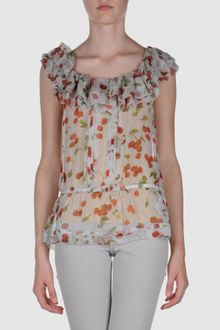 D&G Cherry Print Top - Lyst