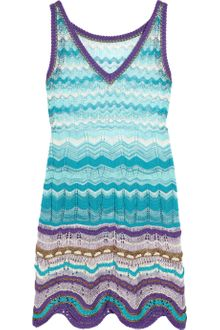 Missoni Canasta Crochet-knit Dress - Lyst