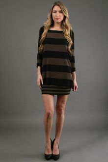 Bailey 44 Stripe Shift Dress - Lyst