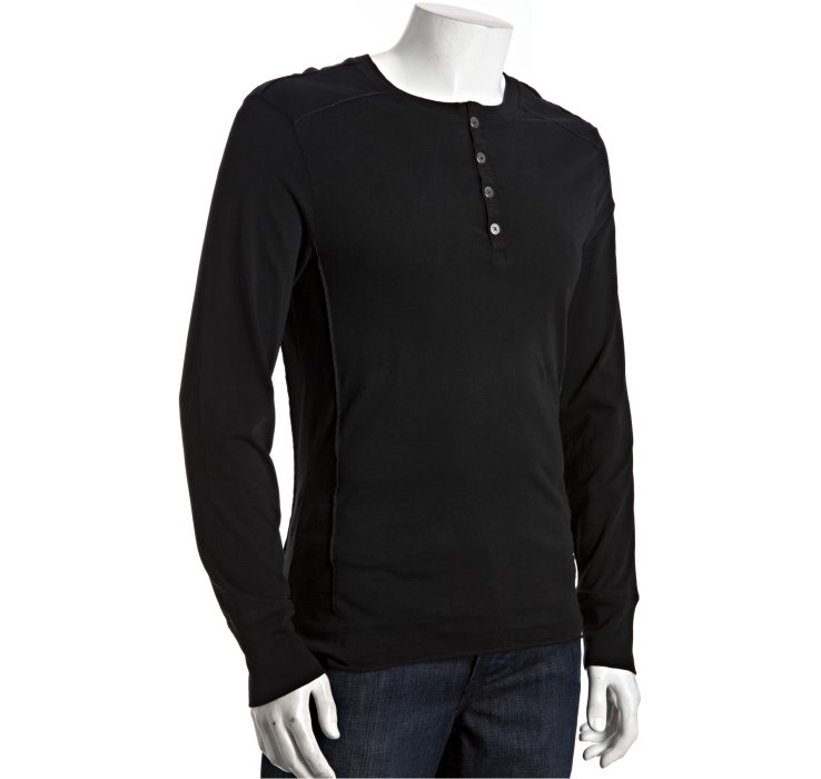 Put on this Carhartt® long-sleeve Workwear Henley on those spring days or layer it on frosty mornings. This shirt goes with just about anything and is comfortable and easy to wear. It's made of oz., % cotton jersey and features a rib-knit collar with a 3-button front closure and left chest pocket.