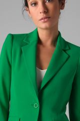 Alice + Olivia Elysee Blazer in Green - Lyst
