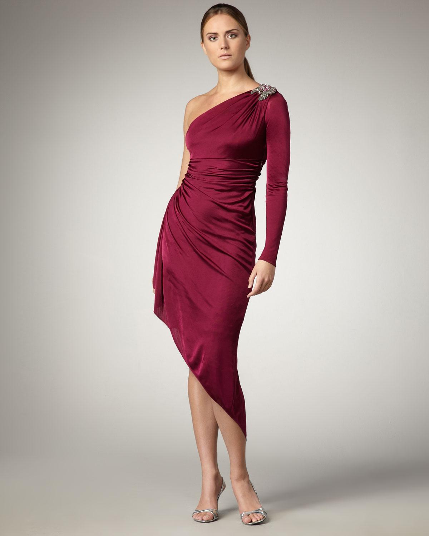 David Meister Red Dress