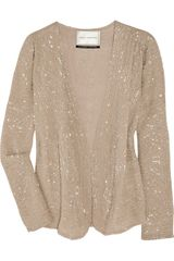 Day Birger Et Mikkelsen Beaded Silkgeorgette Jacket - Lyst