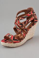 Twelfth Street by Cynthia Vincent Juno Wedge Sandals - Lyst