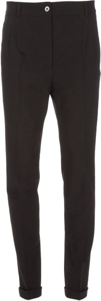 Dolce & Gabbana Tapered Trouser in Black - Lyst