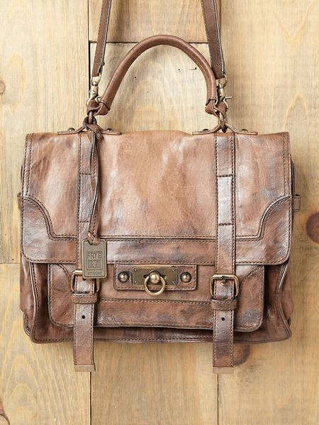Free People Cameron Satchel in Brown (taupe)