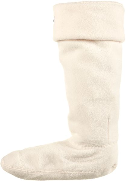 Topshop Welly Liners By Hunter in Beige (cream) - Lyst