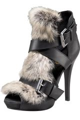 A.L.C. Exclusive Rabbit Fur Sandal - Lyst