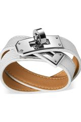 Hermes Leather Jewellery Hermès Bracelets - Lyst