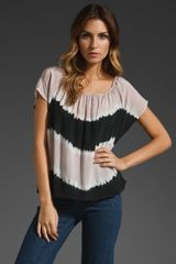 Joie Caro Top in Sphinx and Caviar - Lyst