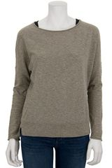 Vince Solid Crew Sweater - Lyst