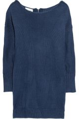Acne Shore Oversized Chunky-knit Cotton Sweater - Lyst