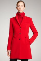 Akris Punto Back-vent Coat - Lyst