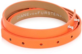 Diane Von Furstenberg Haley Double-wrap Belt - Lyst