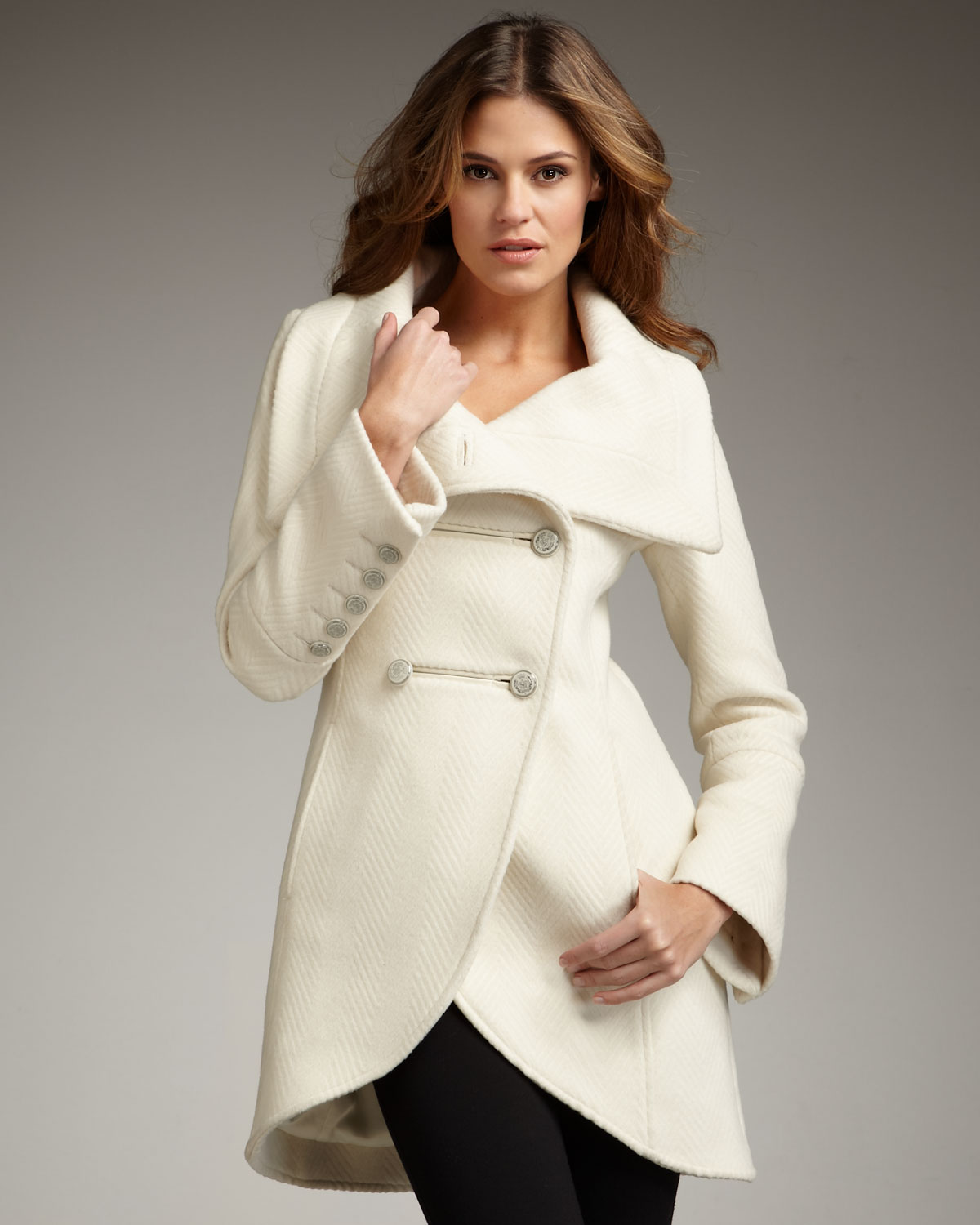White Wool Coats For Women
