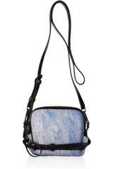 3.1 Phillip Lim Abichi Calf Hair and Leather Shoulder Bag