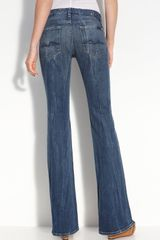 7 For All Mankind Lexie Kimmie Boot Cut Jeans - Lyst