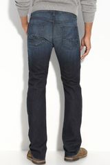 7 For All Mankind Standard Fit Slim Straight Jeans - Lyst