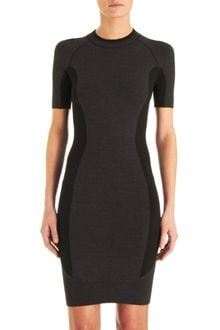 Alexander Wang Color Block Dress - Lyst