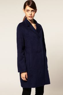 ASOS Collection Asos Formal Coat in Brushed Wool - Lyst