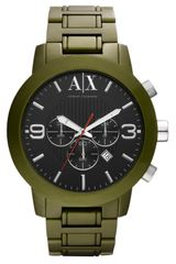 Armani Exchange Aluminum Chronograph Watch - Lyst