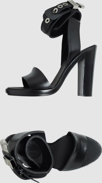 Balenciaga Platform Sandals in Black - Lyst