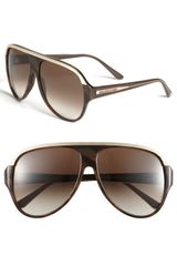 Balenciaga Paris Aviator Sunglasses - Lyst
