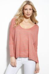 BCBGMAXAZRIA Willa Slouchy Striped Top - Lyst
