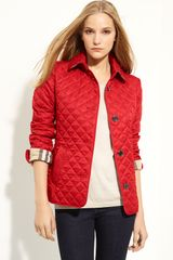 Burberry Brit Quilted Short Jacket - Lyst