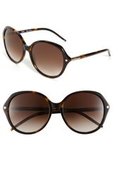 Chloé Oversized Sunglasses - Lyst