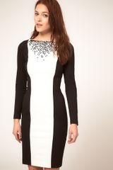 Coast Coast Polly Embellished Neck Dress - Lyst