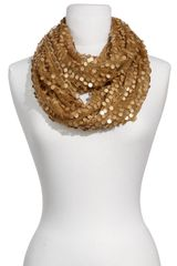 Collection Xiix Sequin Circle Scarf - Lyst