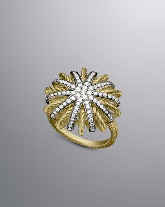 David Yurman Starburst Ring, Pave Diamonds - Lyst