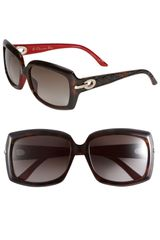 Dior 'My Lady - 6' Square Sunglasses - Lyst