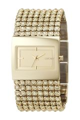 DKNY Mesh Crystal Bracelet Watch - Lyst
